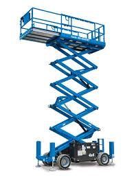 Rent Engine Powered Scissors Lifts